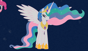Minecraft Princess Celestia by Ariakus89