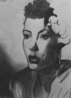 Billie Holiday by catwoman2035