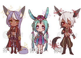 Mixed Venia adoptable auction 3 (CLOSED) by Kaiet