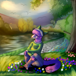 .:Afternoon Ponderings:. Commission by shi562