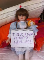 GIVE HER A NAME...PLEASE SHE'S DESPERATE!! by Whitelili123