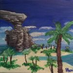 Phon Coast Painting (edited and lmproved) by brynhildr13