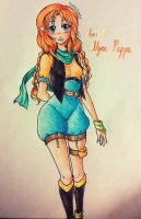 For: Nyan Puppu (traditional) by cyandreamer