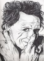 Keith Richards by thisartdrowns