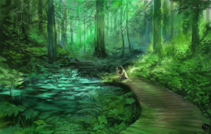 Healing forest by MousyM
