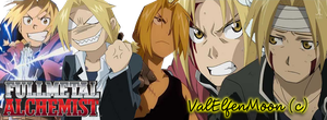 Edward Elric Banner by ValElfenMoon