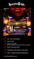 Mayhem and Martinis Instagram Template by ScorpiosGraphx