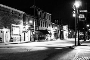 Streets in Black and White by JesseLeeTTW