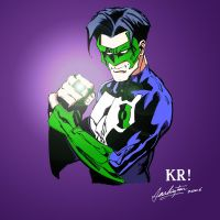 Green Lantern Color by KRStudio