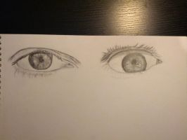 Drawing eyes by joebentley10