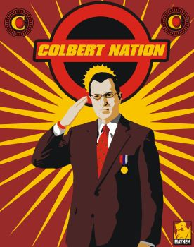Colbert Nation by OiMayhem