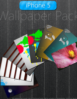 iPhone 5 Wallpaper Pack by TheTechnikStudios