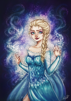 The Cold Never Bothered Me Anyway by starparticles