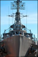 USS Cassin Young by Tramira
