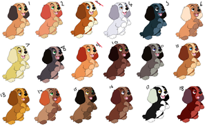 cocker spaniel puppy adoptables SOLD by PrincessaDramaQueen