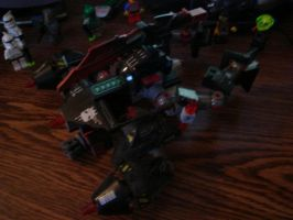 Lego Transformer Aerial Mode by Taggerung1