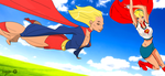 Supergirls! by G-for-Galdelico
