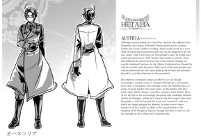 1983 Doomsday Hetalia Character Profile- Austria by ROSEL-D