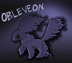 Contest -Eeveelution- Fakemon -  Obleveon by issabissabel