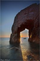 Quiberon's Door by Philippe-Albanel