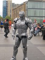 Iron Man Mark II PType Cosplay by hinn888