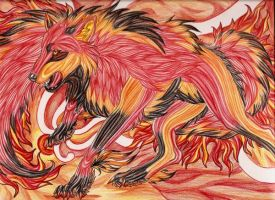 Spirit Blaze by Thunderflight by ArtOfThePawAndFang