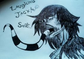 laughing Jack smile by Gamerkitty39