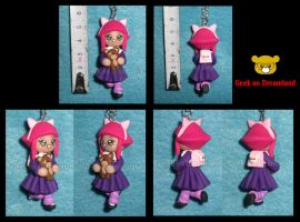 Annie and Tibbers Necklace League of Legends by GeekOnDreamland