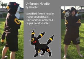 :C: Umbreon Hoodie by theamazingwrabbit