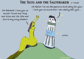 The Slug and the Saltshaker by Fregatto