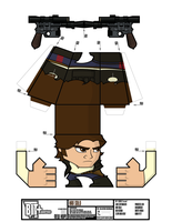 BIT+ Series 8 New Hope Han Solo Sheet by IdeatoPaperStudios