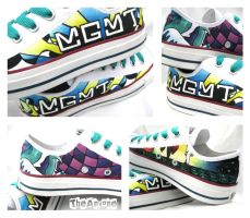 MGMT Converse Shoes by TheAnyone
