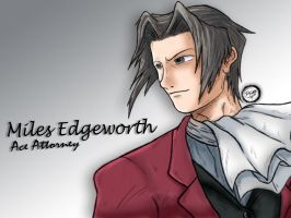 Miles Edgeworth by Patrick-Theater