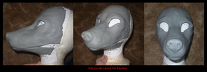 Old Mask Mold by sugarpoultry