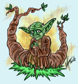 Yoda by norsepearl