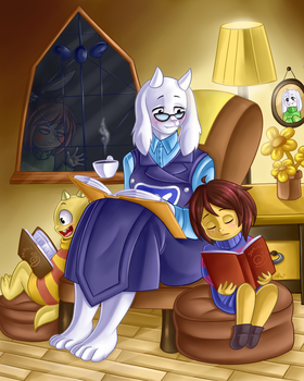 Peaceful Moment by Wizaria