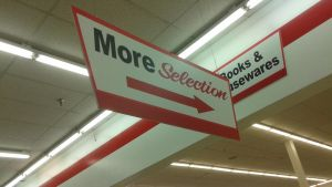 New signs at ARC Thrift 2 by mylesterlucky7