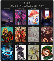 2015 art summary by ZLynn