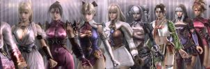 Soul Calibur Girls ~ Pecking Order by skytoast