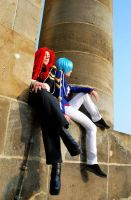 Cosplay: Touga and Miki 1 by Maohheika