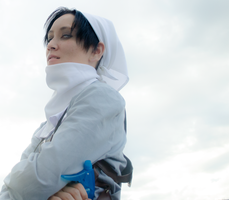 SnK Cosplay: Cleaning Levi by mind-crash