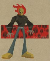 Ghost Rider Animated Design by 231705