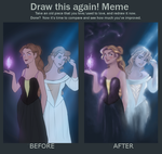 Draw This Again! Odette and Odile by LamourDanimer