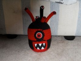 Black and Red Beholder by onlyRa