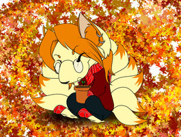 Autumn Love - Pkmn Armonia by BehindClosedEyes00