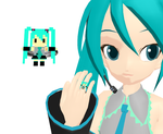 Pixel Miku Ring + Download by Aira-Melody