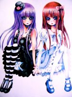 Lolita Girls: the Goth and the Sweet by xxswanfeather