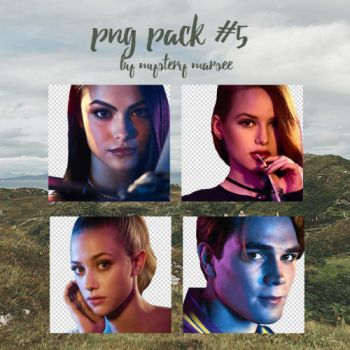 Riverdale png. Pack 5 by Mystery-Marsee