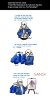 Undertale ask blog: how is sans chubby by bPAVLICA