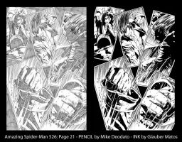 Spider-Man by Mike Deodato sample 2 by GlauberMatos